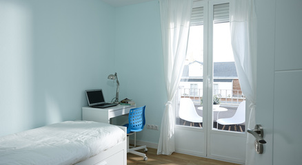 Habitaciones para estudiantes universitarios abay moncloa for Habitaciones para universitarios